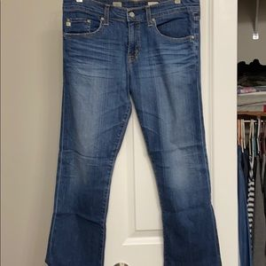 Anthropologie jeans by AG Ex-Boyfriend crop sz.28